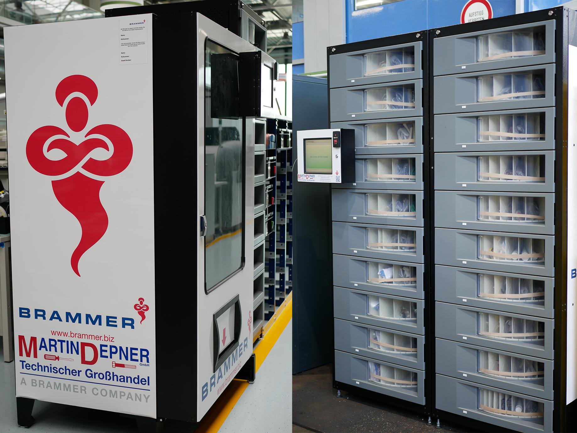 C-Teile Management Ausgabeautomaten