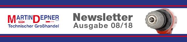 Newsletter Ausgabe 08/2018