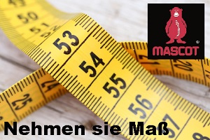 Mascot Ma�tabelle