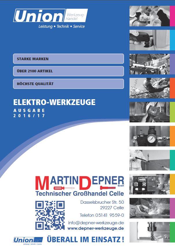 Elektro Werkzeuge Katalog