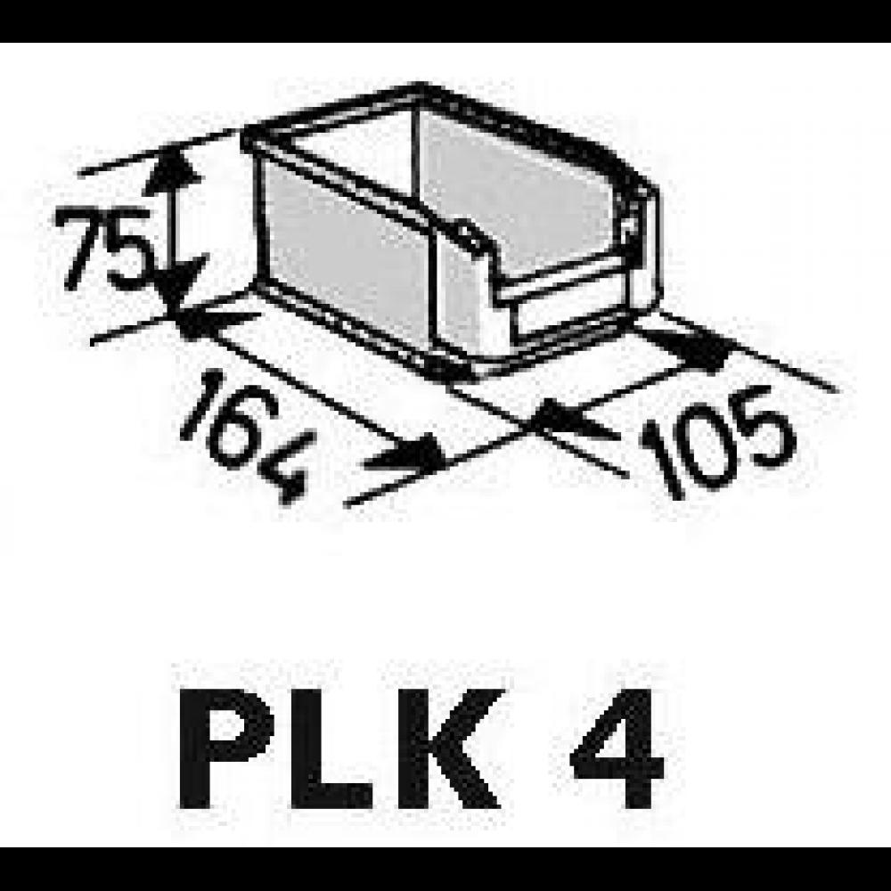 regalschrank ohne t ren grau 780mm 42 k sten 4045537008200. Black Bedroom Furniture Sets. Home Design Ideas